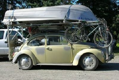 Consider The Total Weight Of The Items You Want To Put On Your Car Roof Rack.  Know The Weight Limit Of Your Rack And Your Car. Never Exceed The Limit.